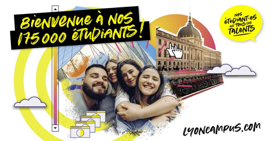 Campagne de rentrée 2021-2022 de la Maison des étudiants de la Métropole de Lyon