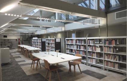 Bibliothèque du Palais - Université Jean Moulin Lyon 3 - Quais