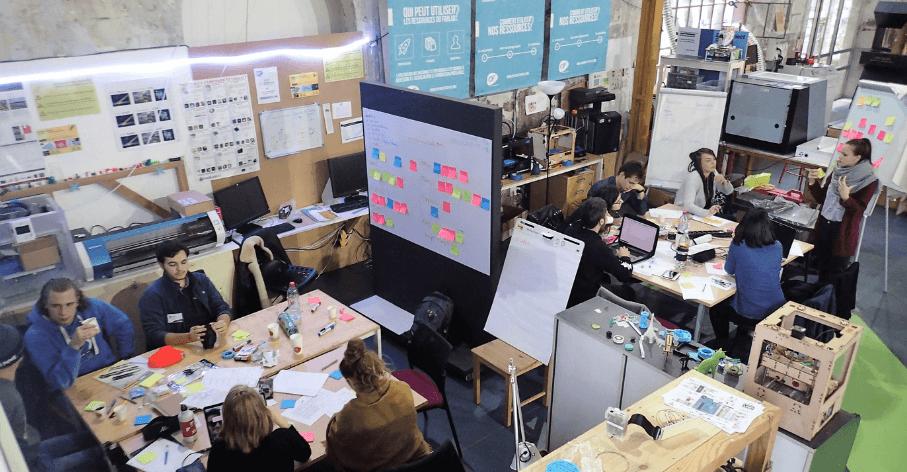 Challenge « 48h pour faire vivre des idées® » - Fabrique de l'Innovation - novembre 2018