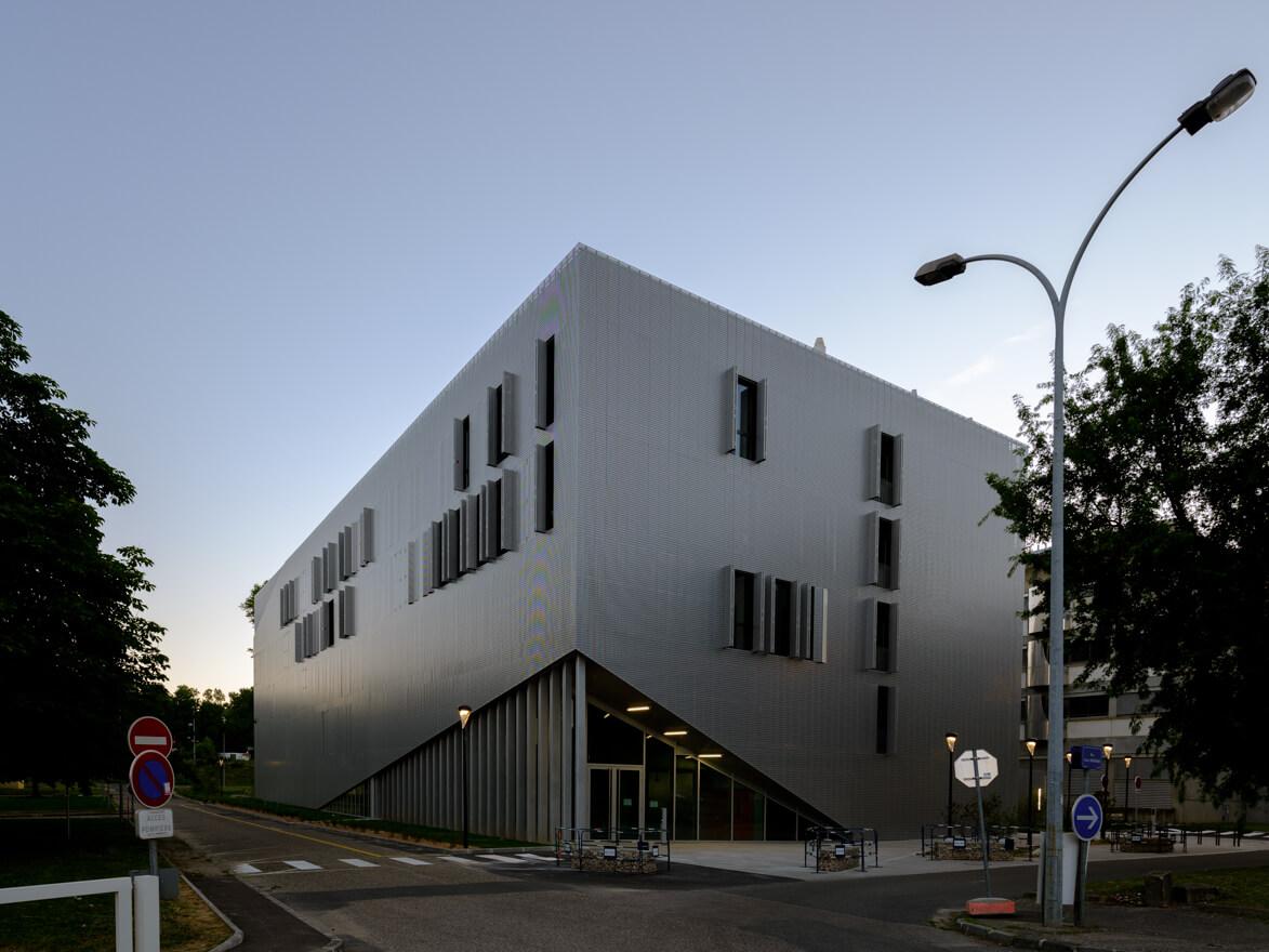 Bâtiment Edgar Lederer © Nicolas Robin
