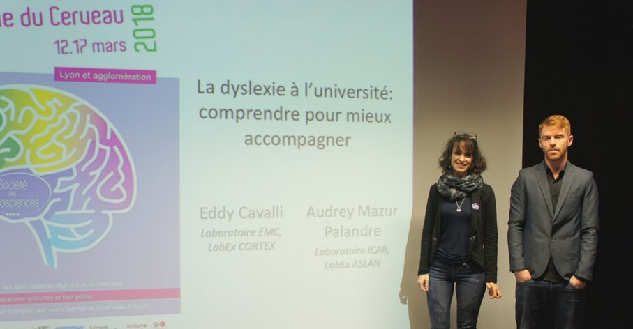 Conférence Dyslexie à l'Université - intervenants