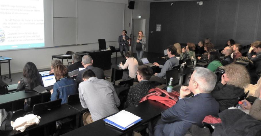 Lancement du projet CURSUS+ avril 2019 © Université de Lyon