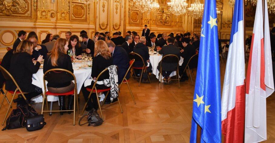 Dîner ELyTMaX et ELyT Global Université de Lyon - Hôtel de Ville - 5 mars 2018
