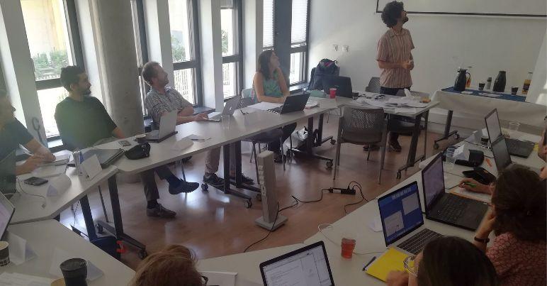 Les 12 participants de la formation « Rédaction d'une proposition compétitive »