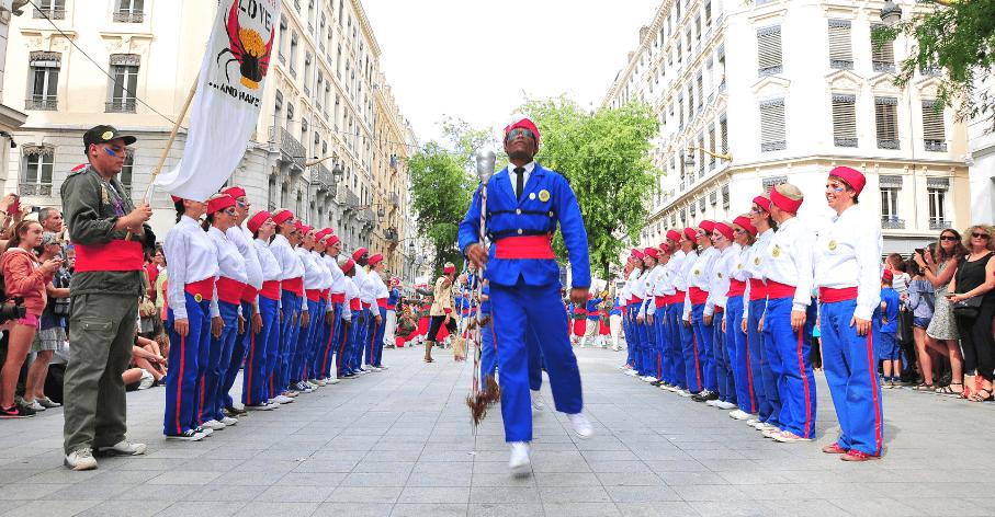 Défilé pour la paix Biennale de la danse, 16 septembre 2018 - Vincent Noclin