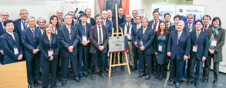 L'Université de Lyon reçoit la délégation de l'Université du Tohoku - ELyTMaX et ELyT Global