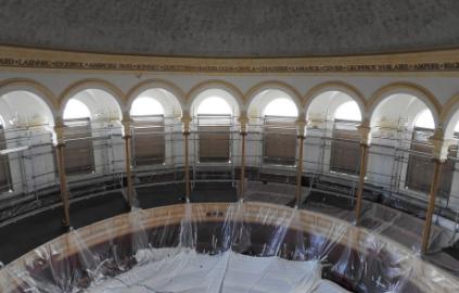 Grand Amphithéâtre en travaux - Université Lumière Lyon 2