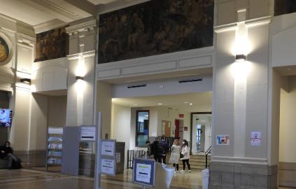 Hall d'accueil du Palais de l'Université - Université Jean Moulin Lyon 3