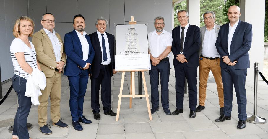Inauguration des opérations Lyon Cité Campus, Campus LyonTech-la Doua, le 24 juin 2019 - Laurent Carpentier