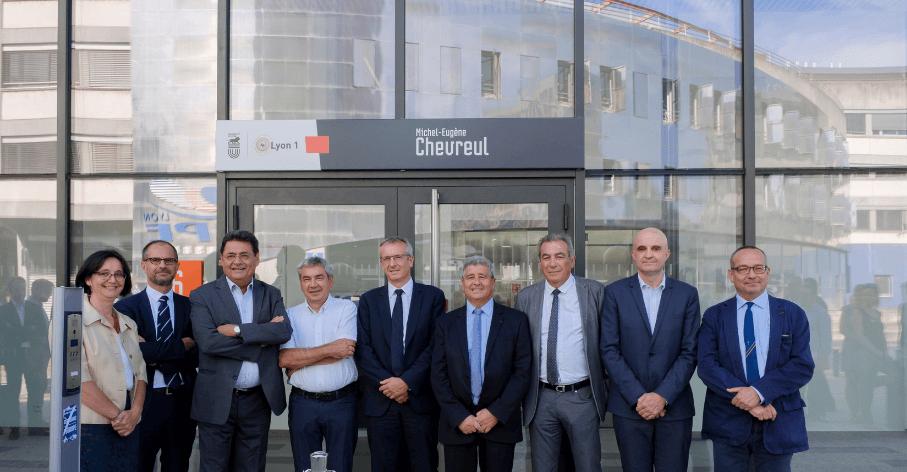 Inauguration du bâtiment Chevreul, Campus LyonTech-la Doua, le 17 septembre 2018 - Nicolas Robin