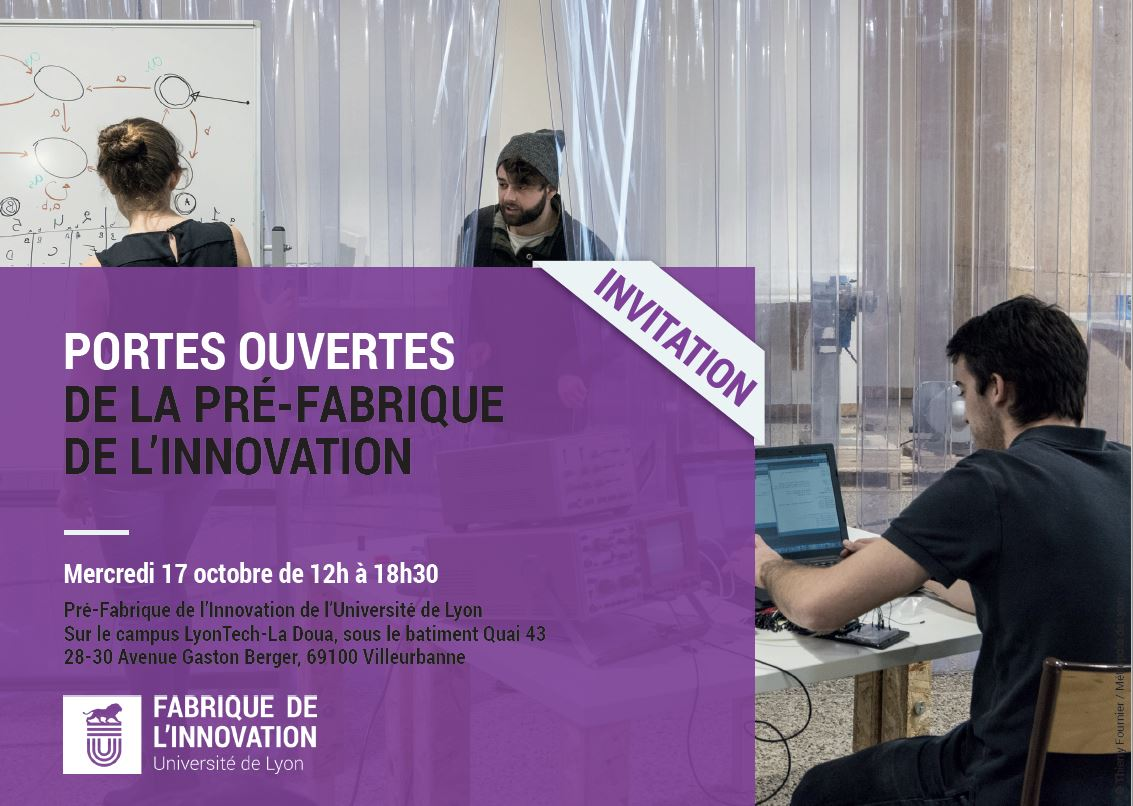 Invitation PO Pré-Fabrique Innovation - octobre 2018