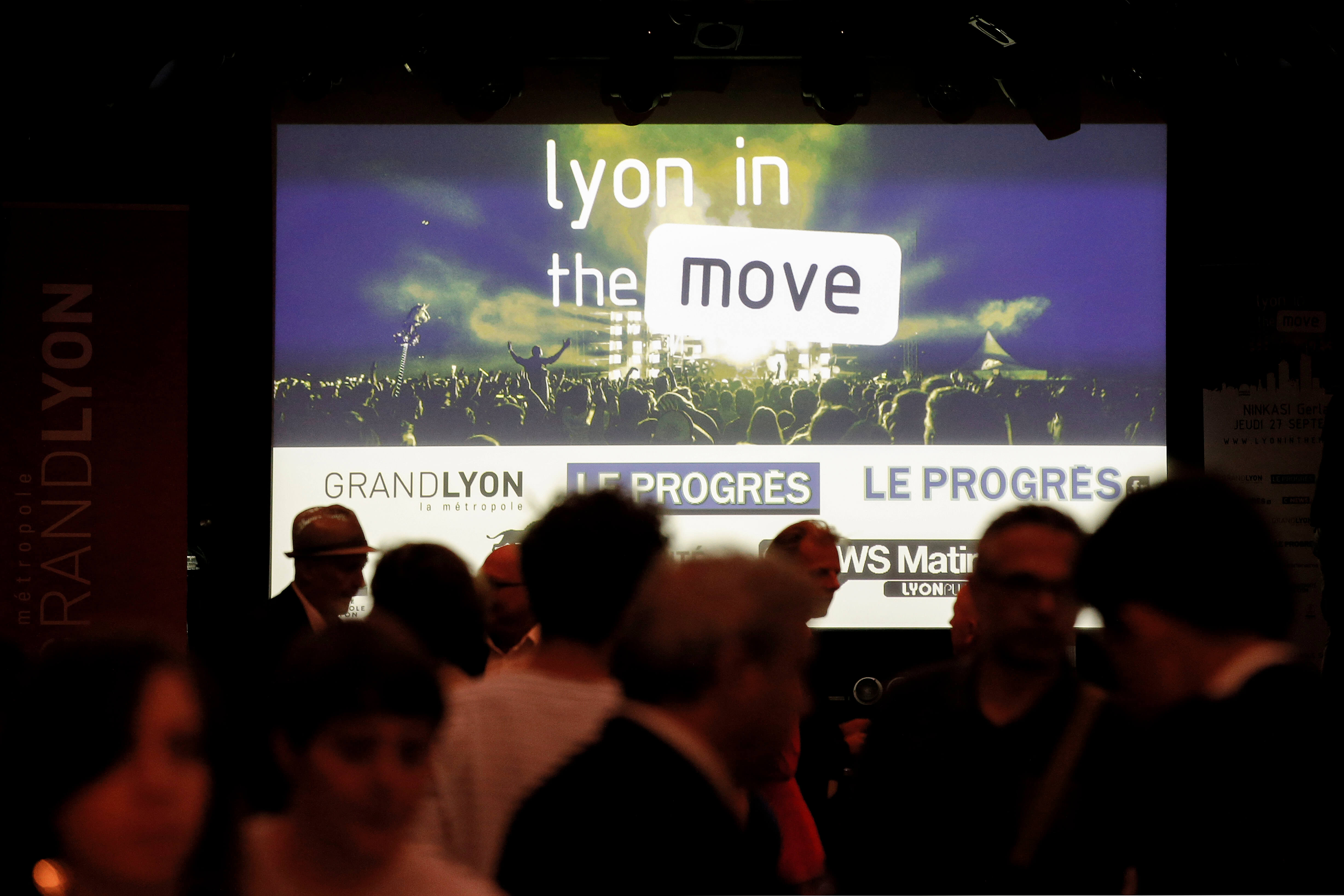 Lyon in the move