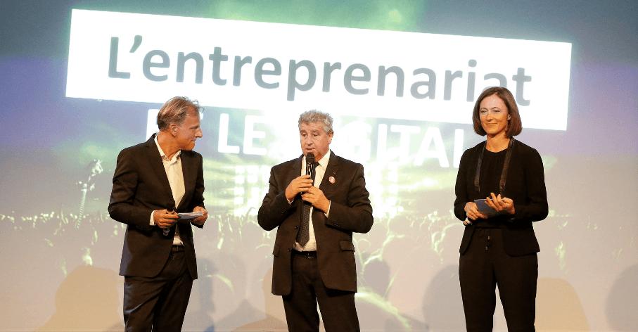 Khaled Bouabdallah, président de l'Université de Lyon et partenaire de Lyon in the move - Le Progrès - crédit photo Maxime Jegat