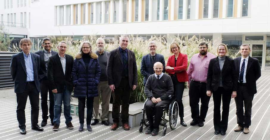 Le SAB de l'IDEXLYON - Photo prise lors de la deuxième réunion en novembre 2017 - ®Vincent Moncorgé