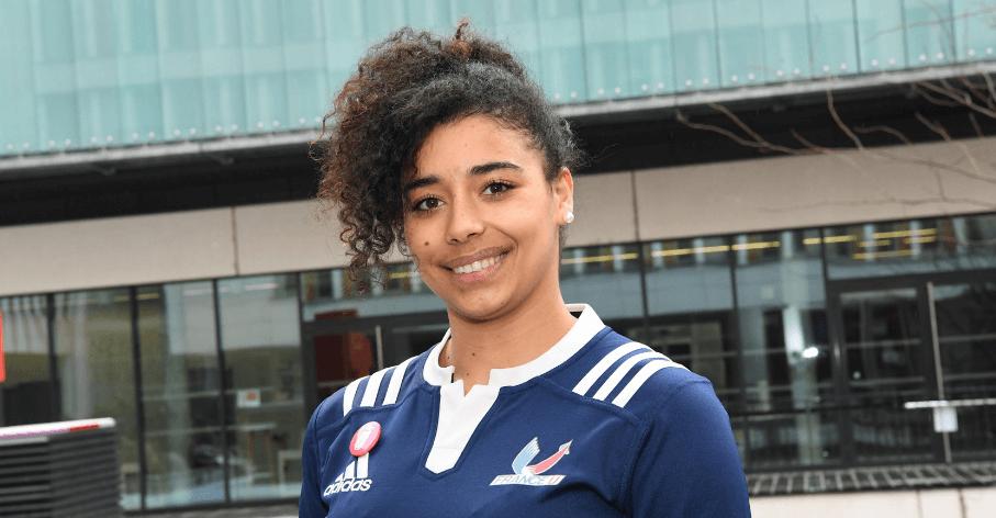 Leïla Guermit, étudiante à l'Université Claude Bernard Lyon 1, championne du monde universitaire de rugby à 7 - Laurent Carpentier