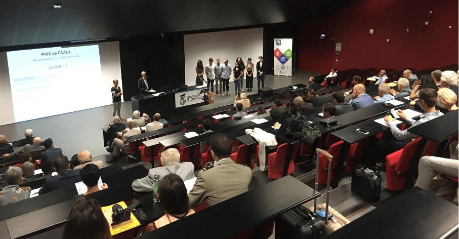 Remise des Prix Formation 2019 - Association des Amis de l'Université de Lyon