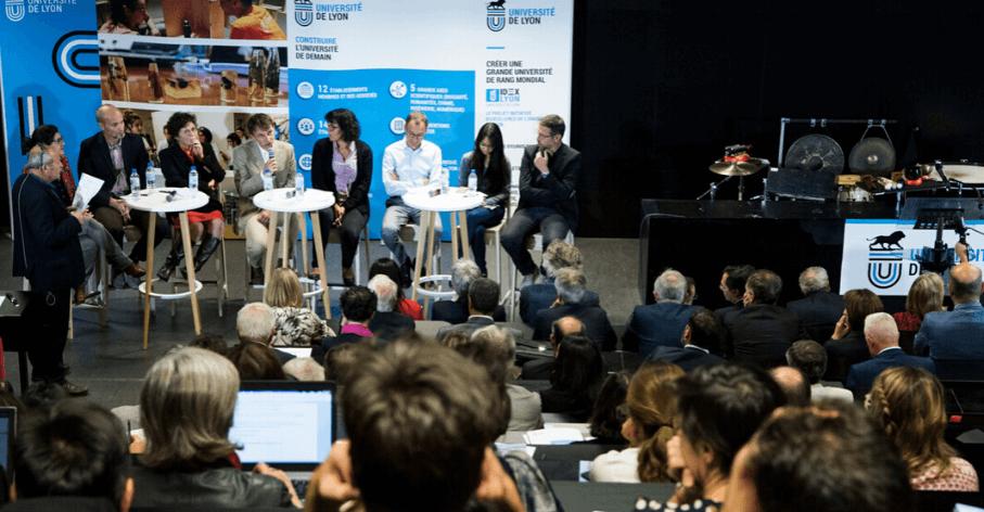 Table ronde IDEXLYON Rentrée solennelle 2018- Thierry Fournier