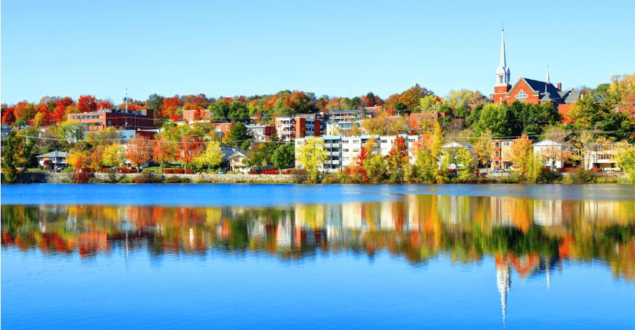 Sherbrooke, Québec, Canada / iStock