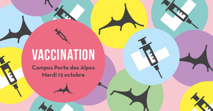 Campagne de vaccination contre la Covid-19, octobre 2021 - Université Lumière Lyon 2