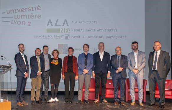 Vernissage projet Porte des Alpes - mars 2019